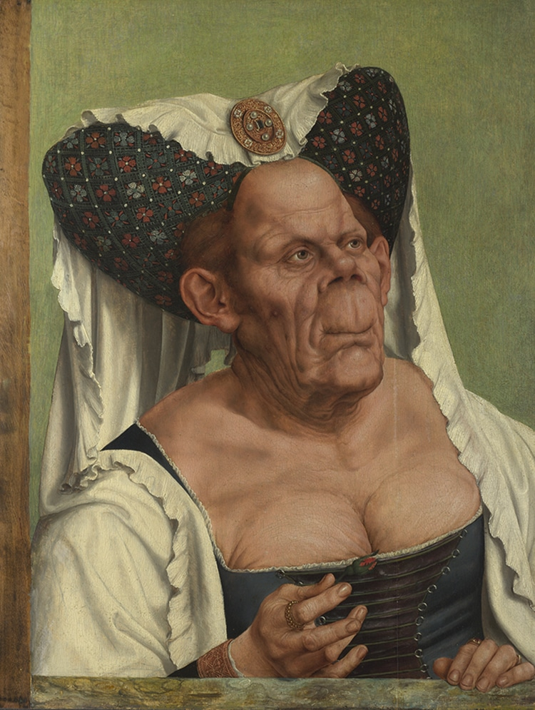 Quinten Massys An Old Woman Or The Ugly Duchess