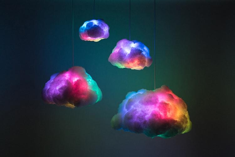 RGB Cloud Lamp Richard Clarkson Studio