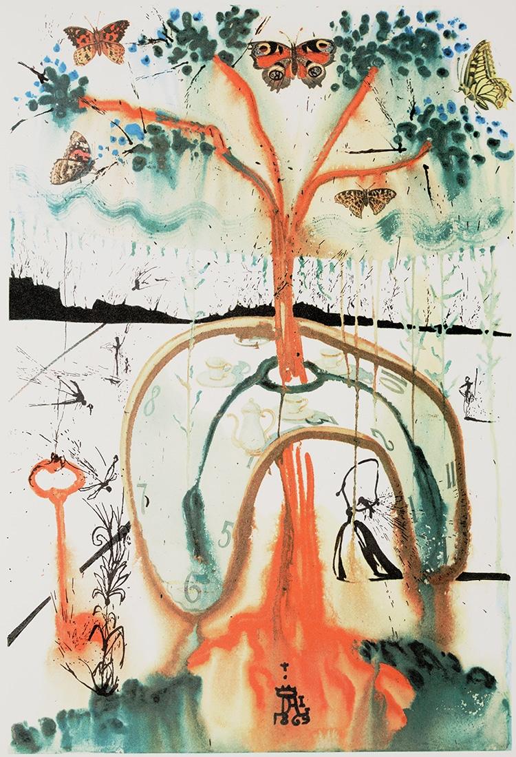 Salvador Dali A Mad Tea Party