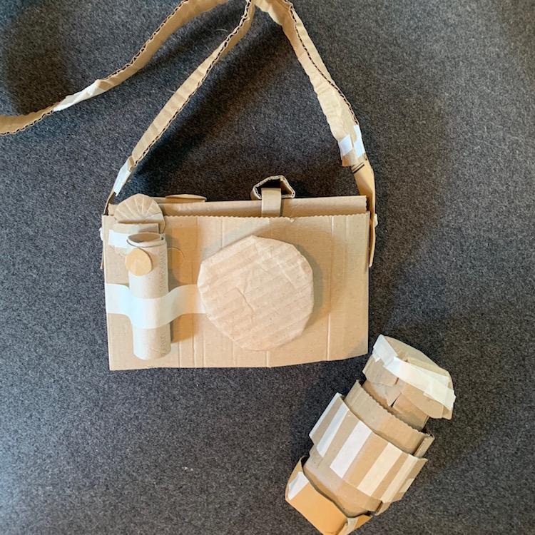 Cardboard Artist Sydney Piercey camera