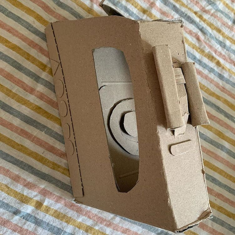 Cardboard Artist Sydney Piercey Iron