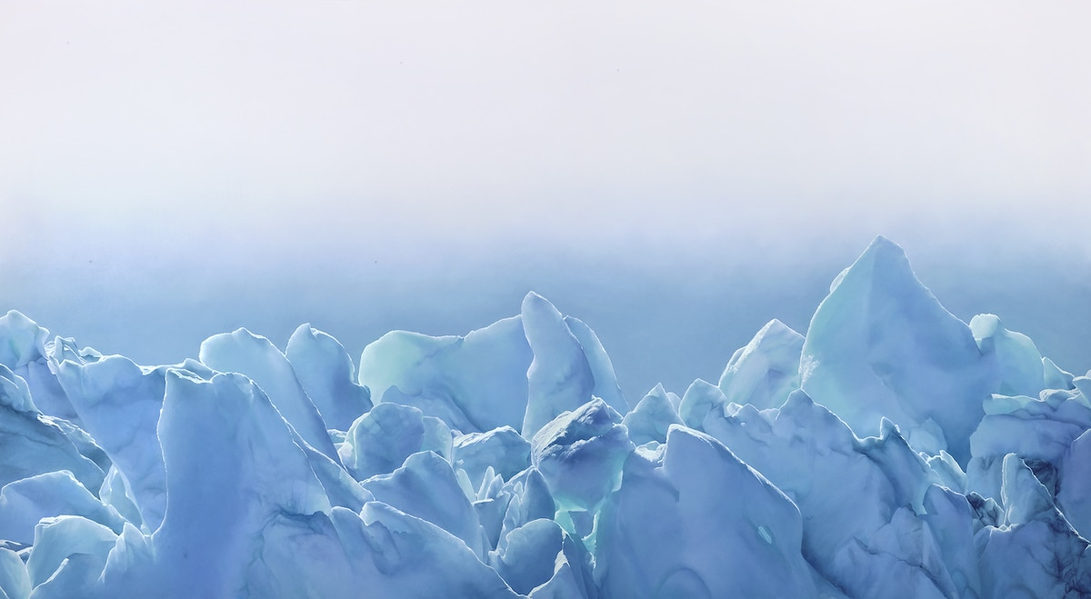 Perito Moreno Glacier by Zaria Forman