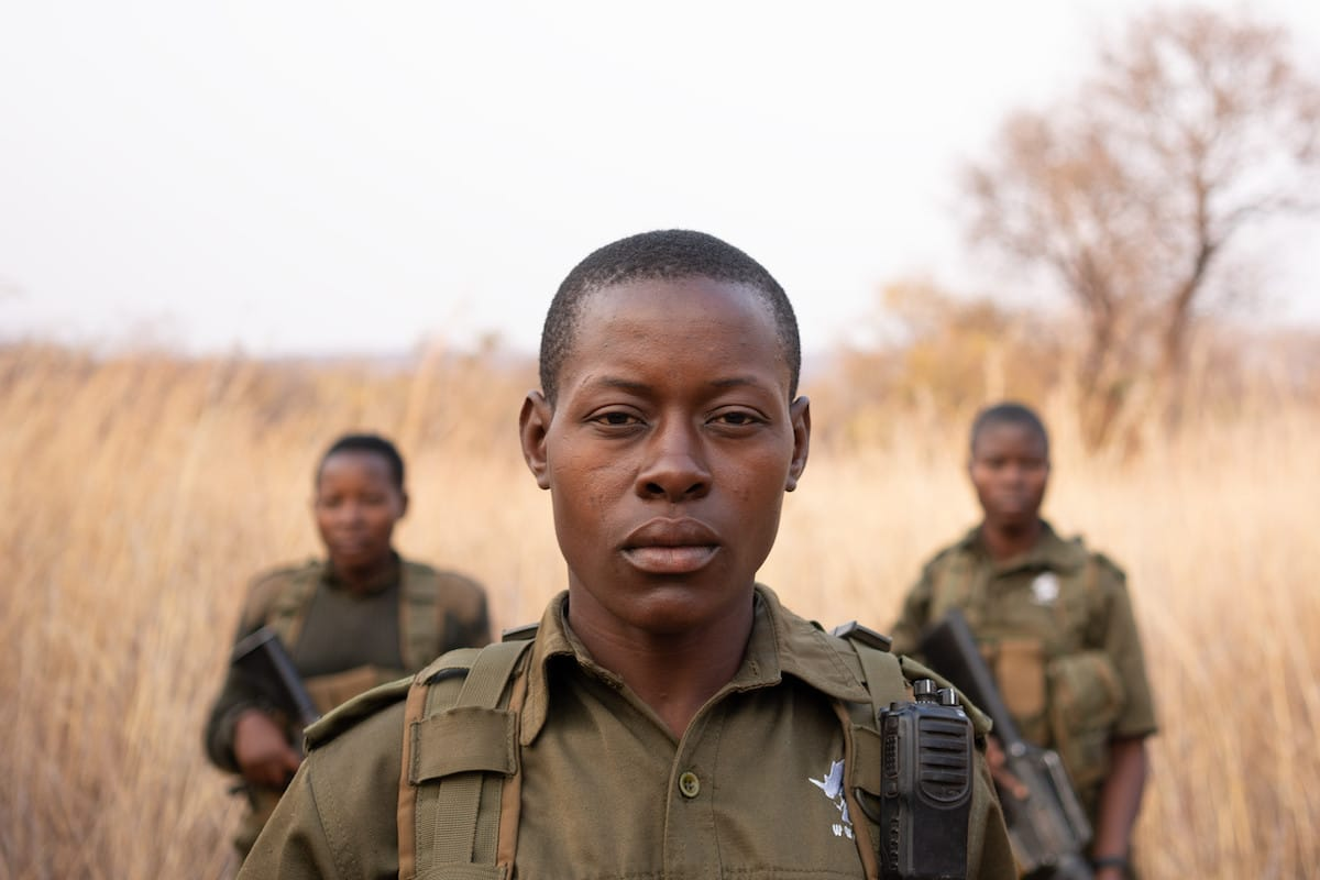 Portrait of a Female Poaching Ranger