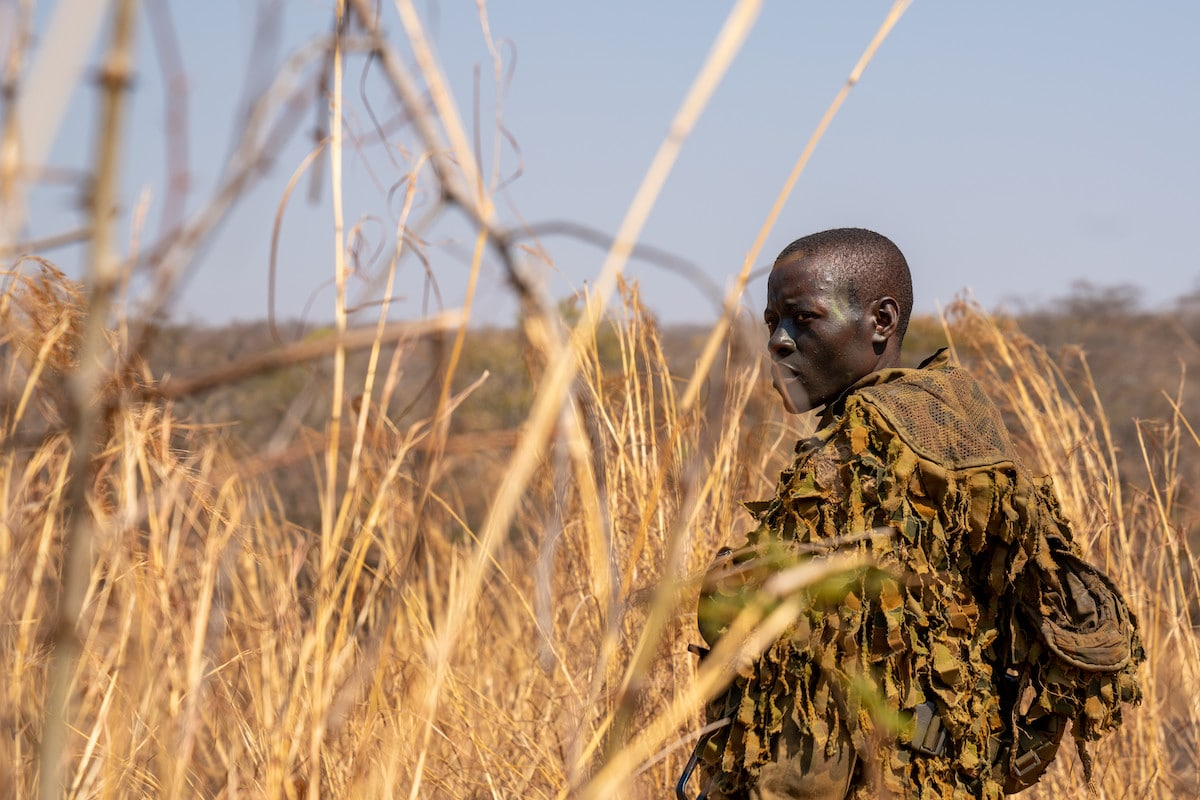 Akashinga Anti-Poaching Ranger in Zimbabwe