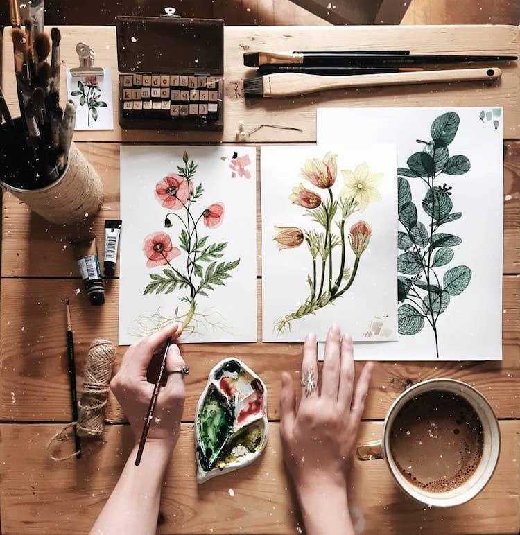 Paintings by Anna Rakitina