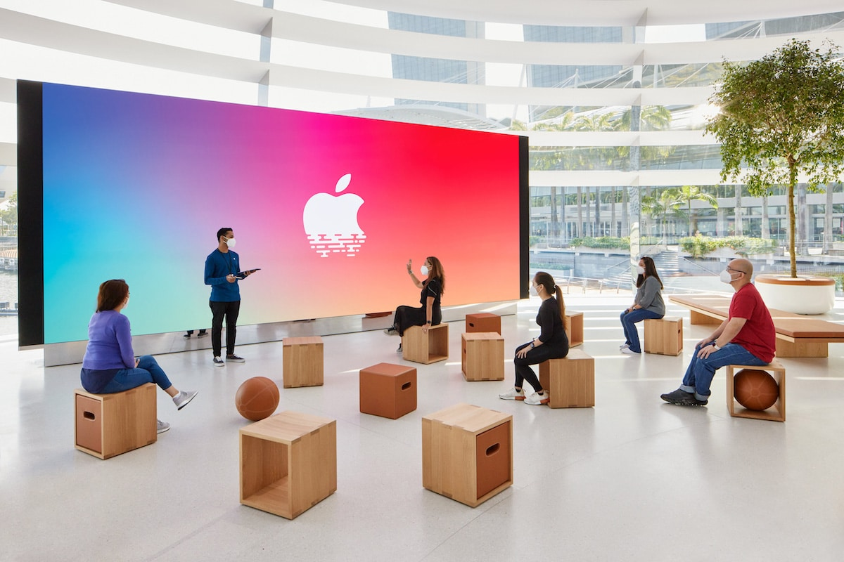 Apple Store Singapore Interior by Foster + Partners