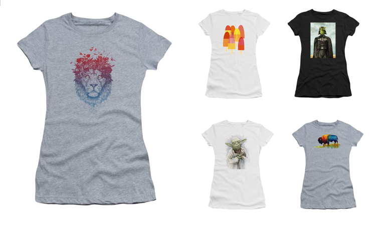Cool Graphic Women's T Shirts