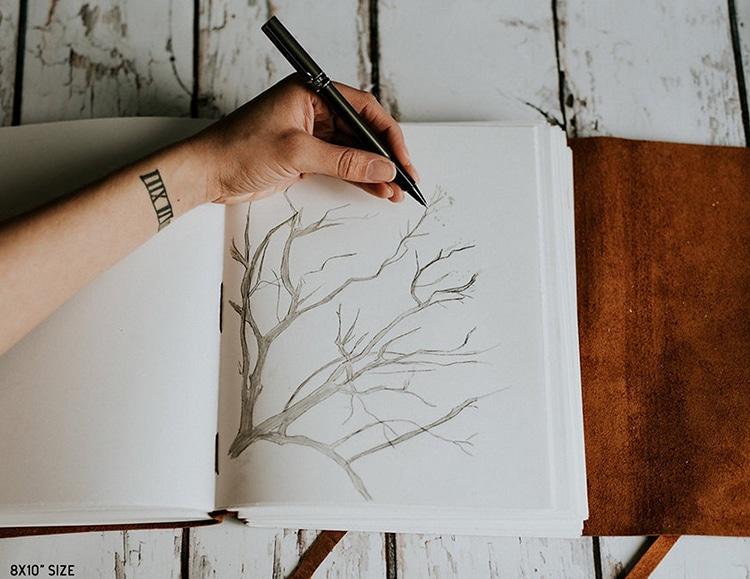 Diario para artistas de piel