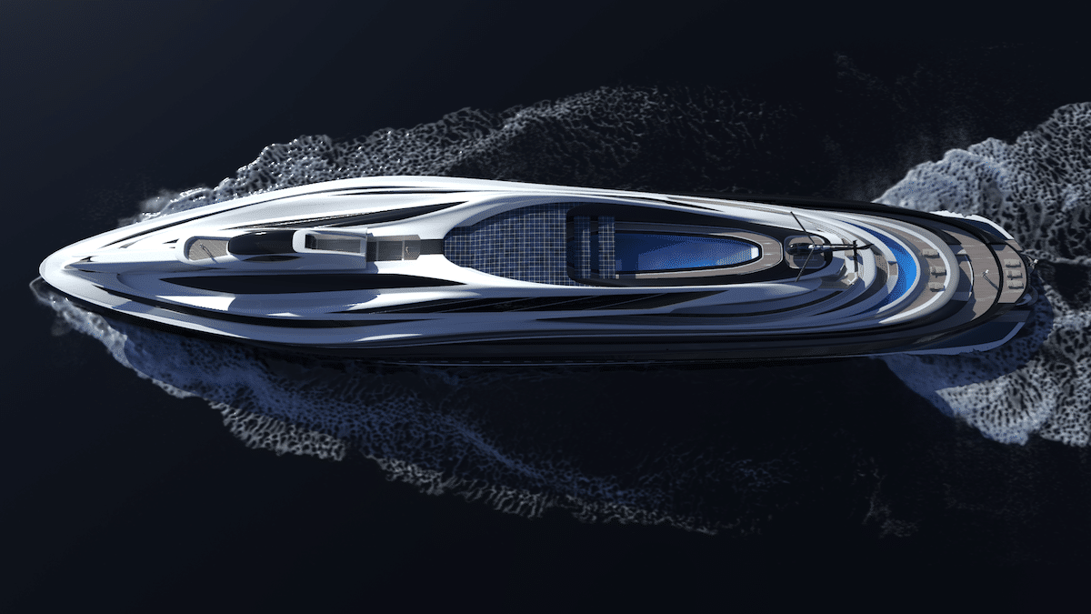 Electric Powered Yacht Concept