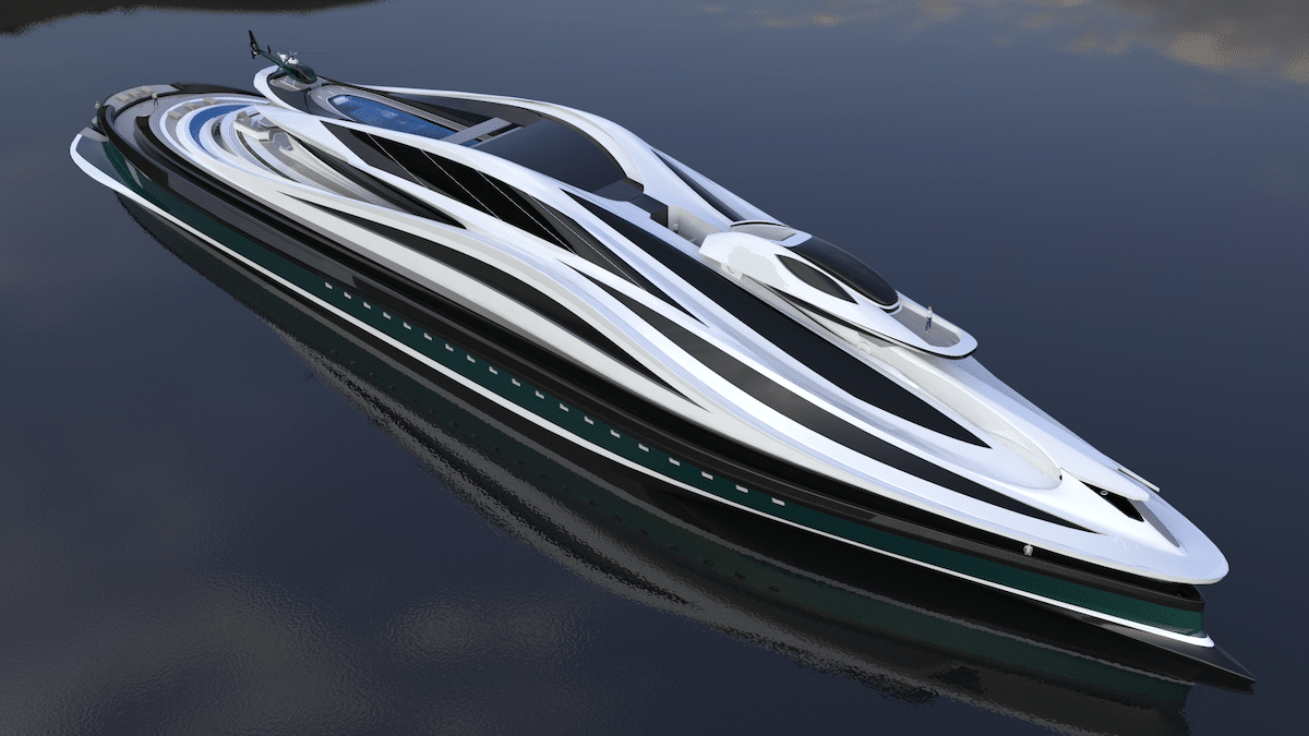 Avanguardia Yacht by Lazzarini Design Studio