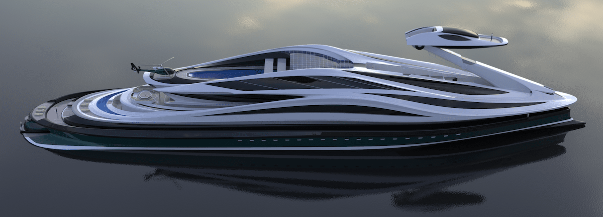 Luxury Yacht Concept