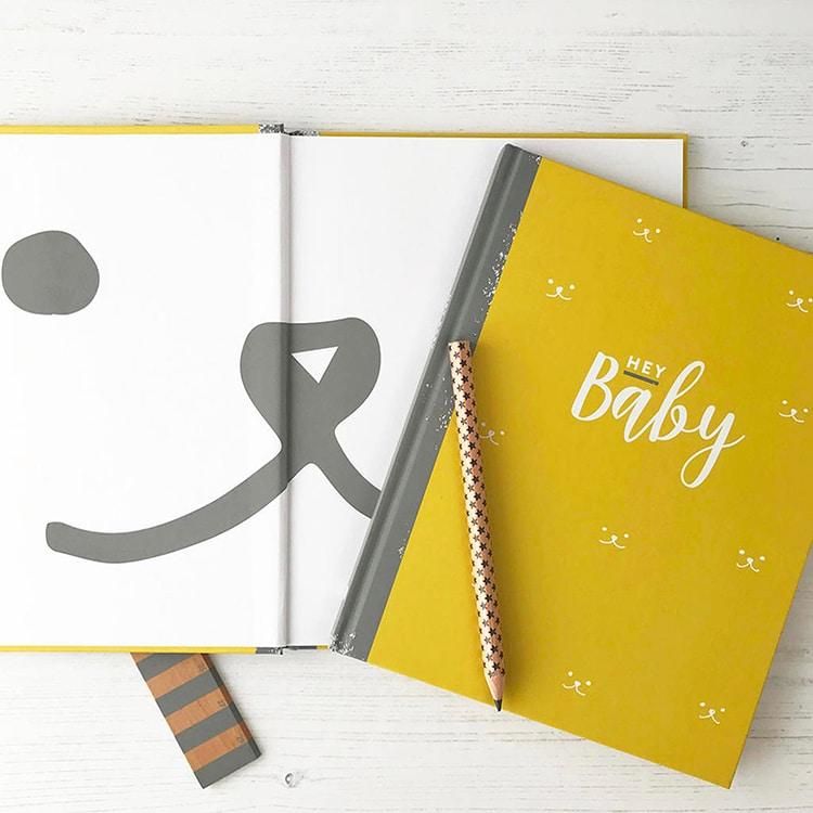 Diario de embarazo y recién nacido