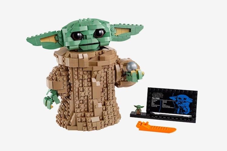 Baby Yoda The Child Star Wars LEGO set