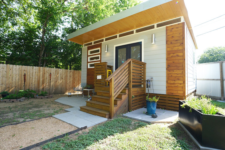 Tiny Home in Backyard