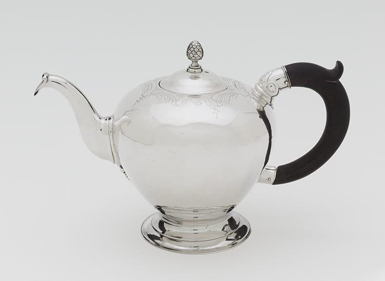 Colonial Silver Teapot