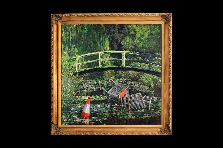 """""""Show Me the Monet"""" de Banksy para la subasta de Sotheby's"""