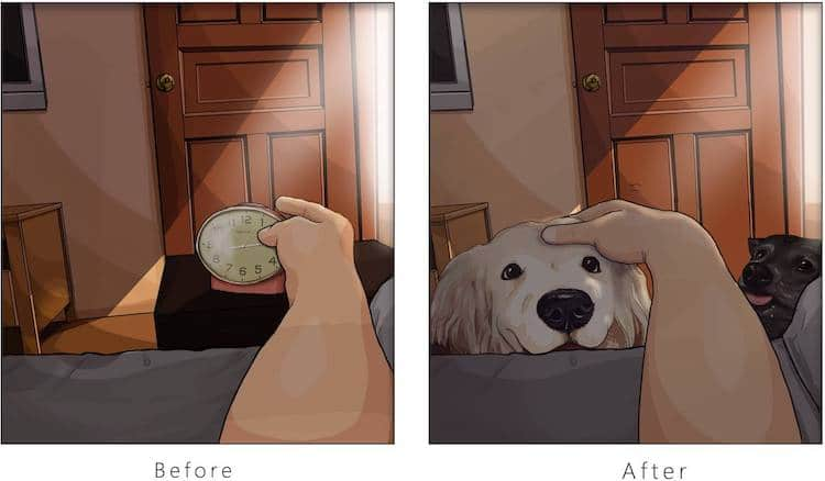 Life With a Dog