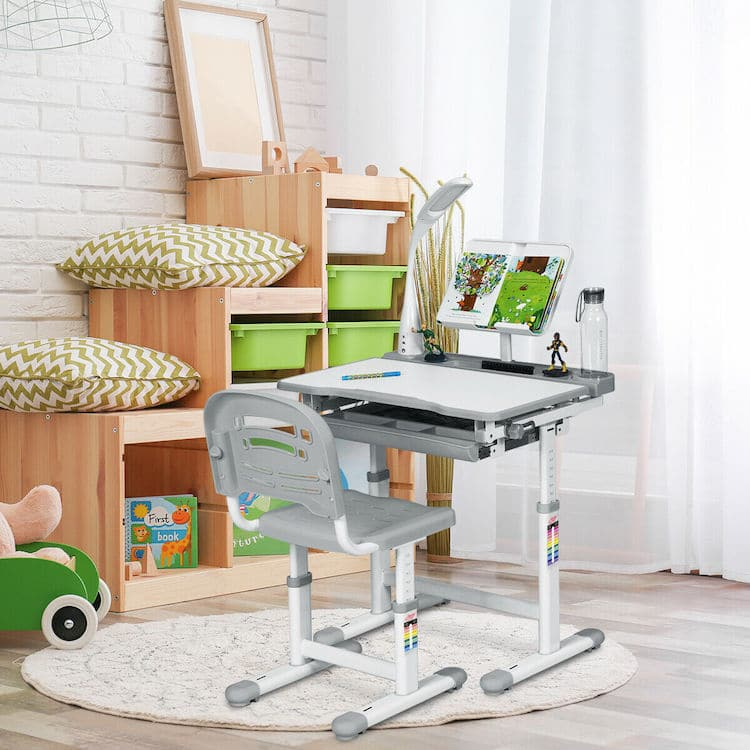 Kids Adjustable Study Desk