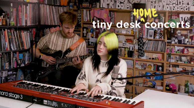 Billie Eilish Tiny Desk Concert at Home