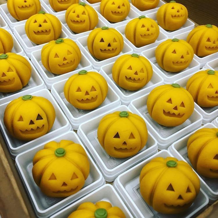 Pumpkin Wagashi by Kurokazu