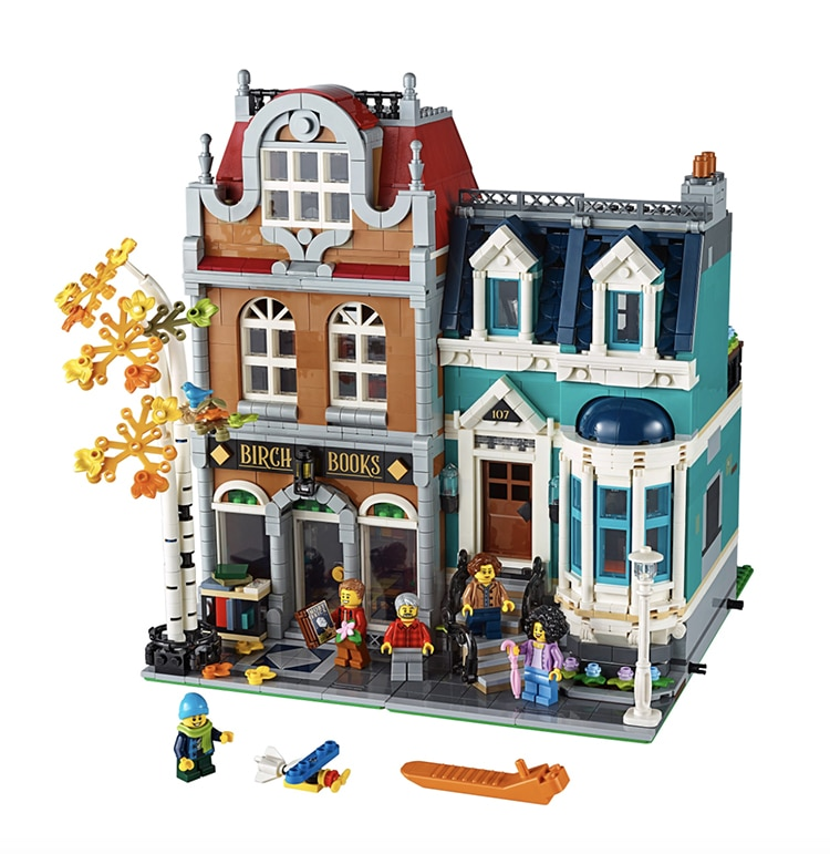 Bookshop LEGO Set