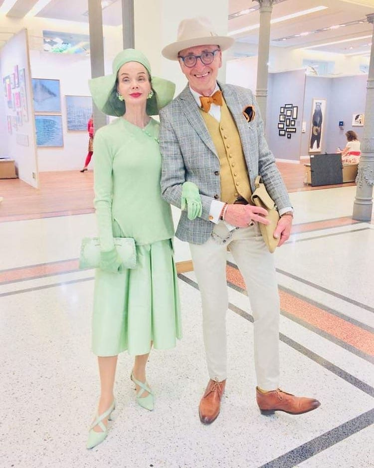 Elderly Friends Fashion Icons