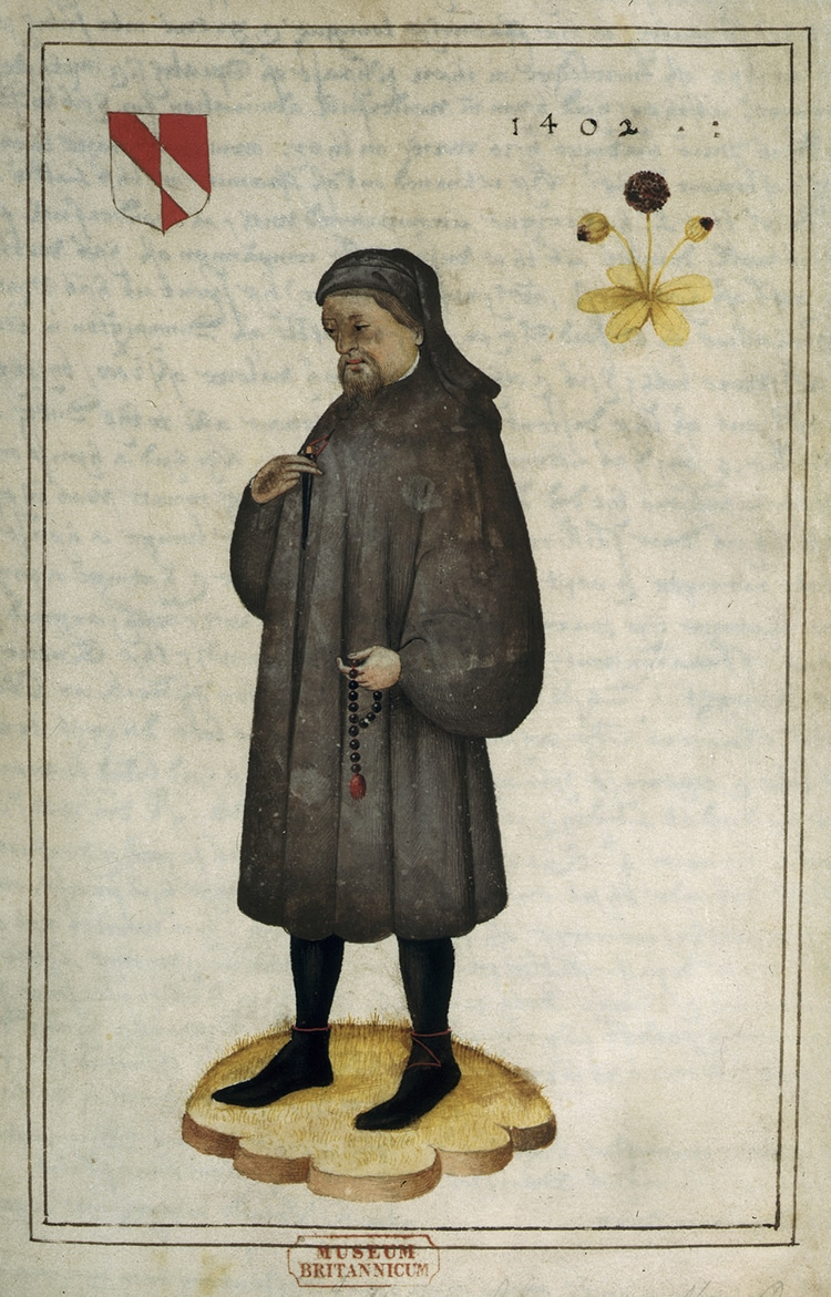 Portrait and Life of Chaucer
