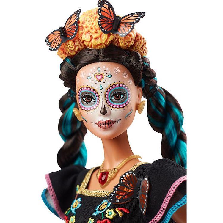 Muñeca Barbie Dia De Muertos