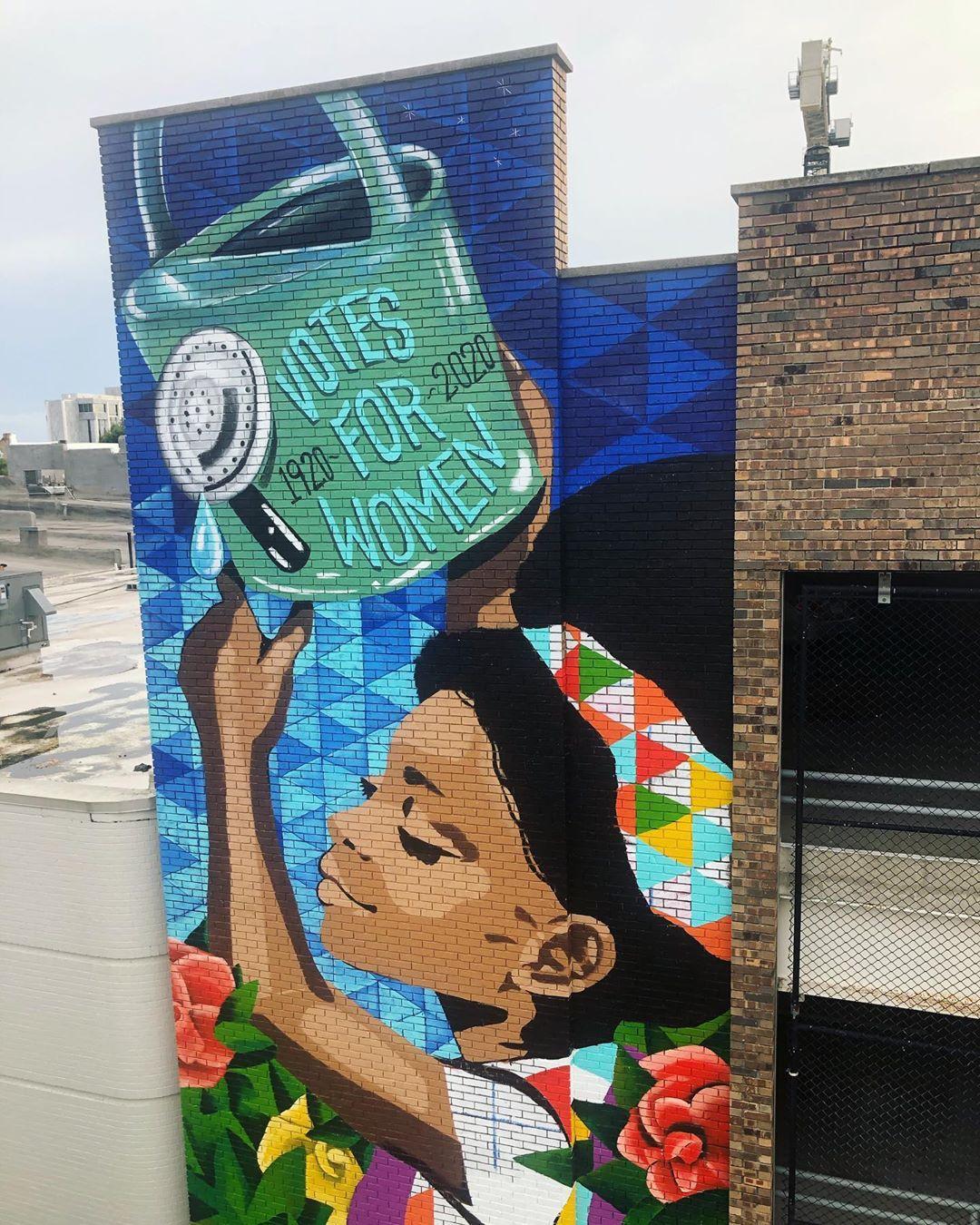 Mural by Kim Radford