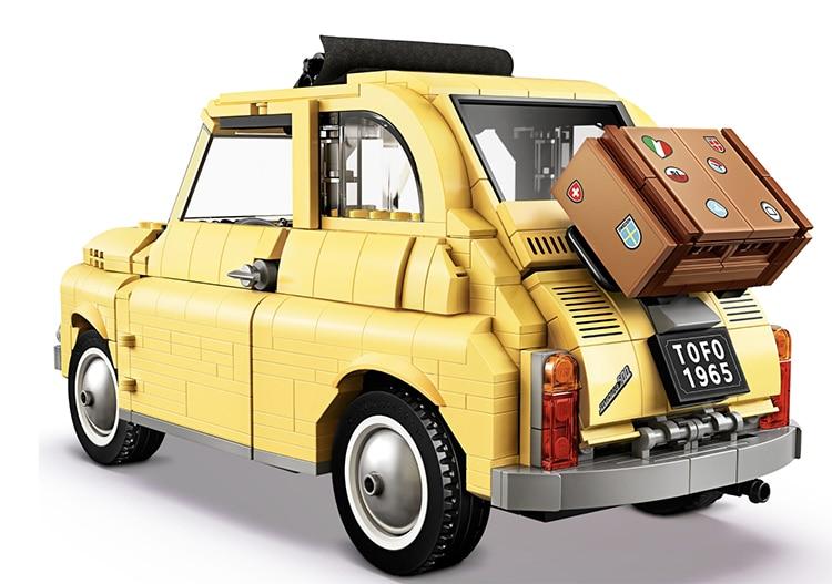 Fiat 500 LEGO Set