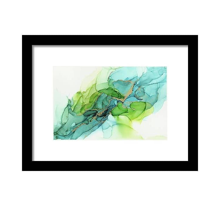 Abstract Framed Art by Olga Shvartsur