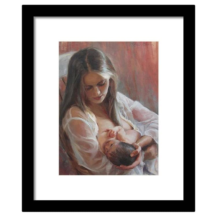 Mother and Child Framed Art Print by Anna Bain
