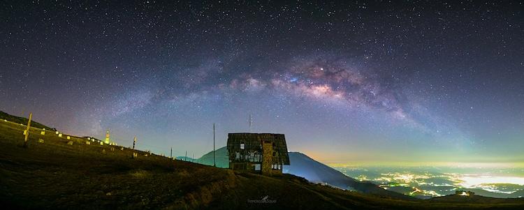 cielo estrellado en guatemala