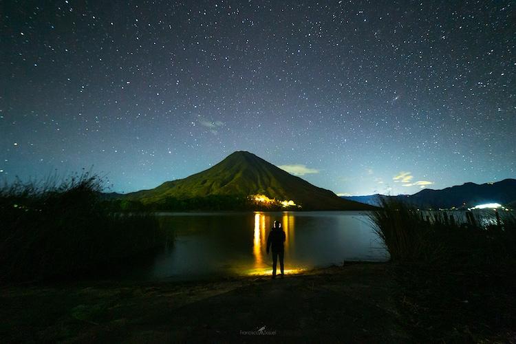 cielo nocturno en guatemala