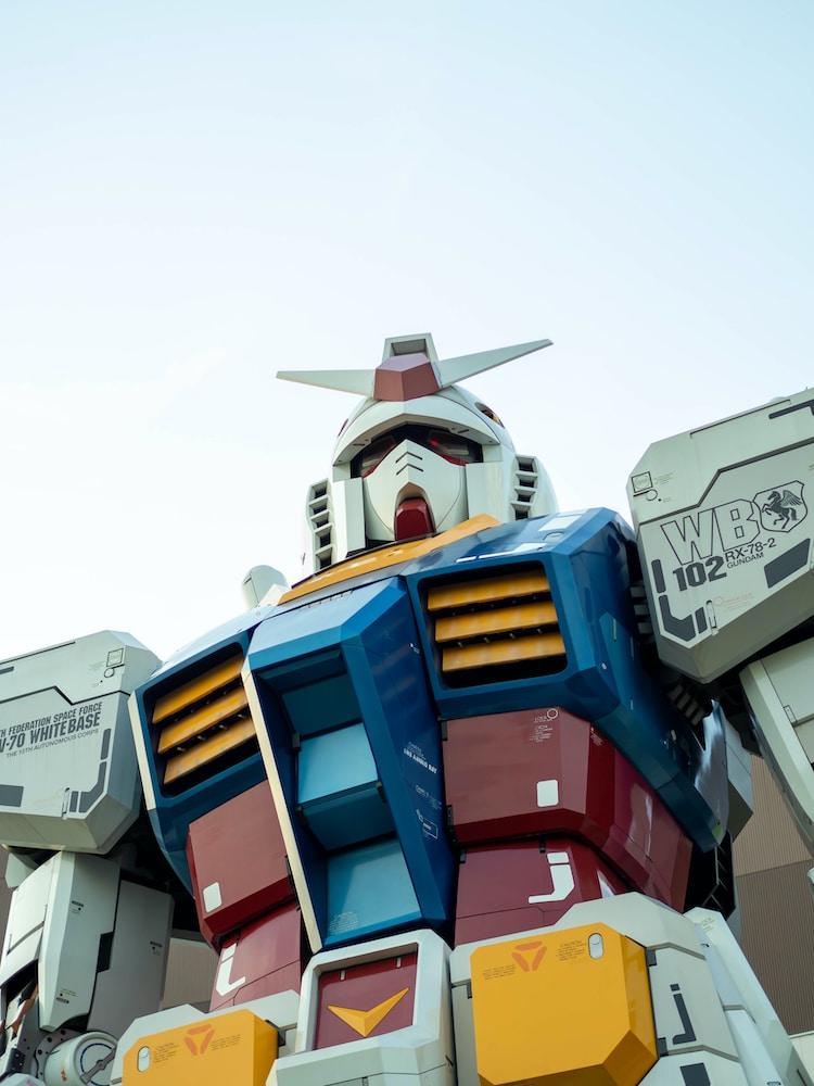 El robot japonés Gundam RX-78-2 ya puede moverse