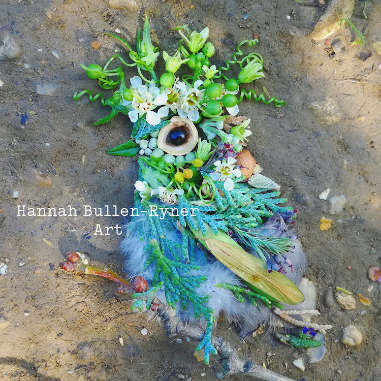 Assemblage Bird Art