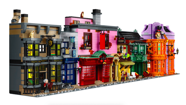 Set de LEGO del Callejón Diagón de Harry Potter