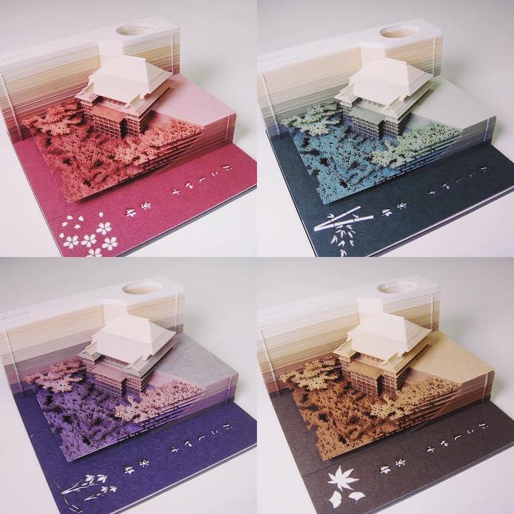 Architecture 3D Memo Pads