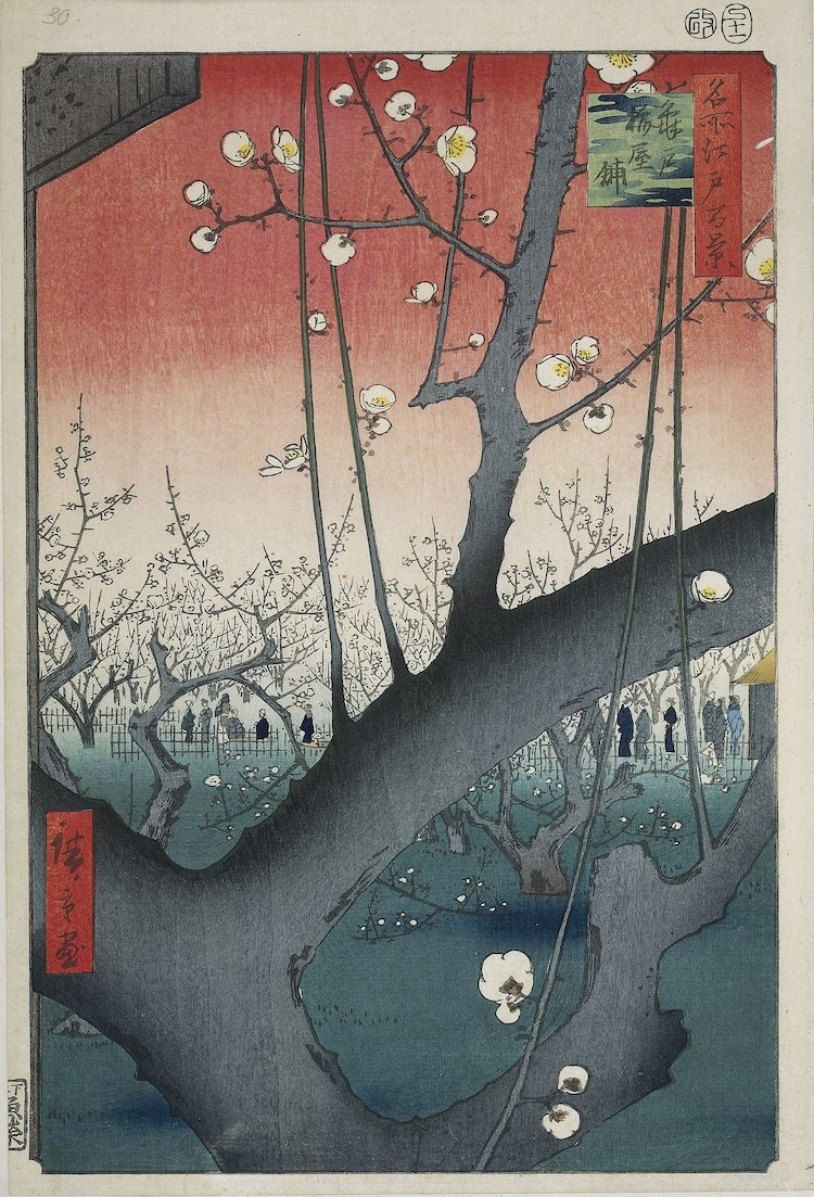 Xilografía de Hiroshige