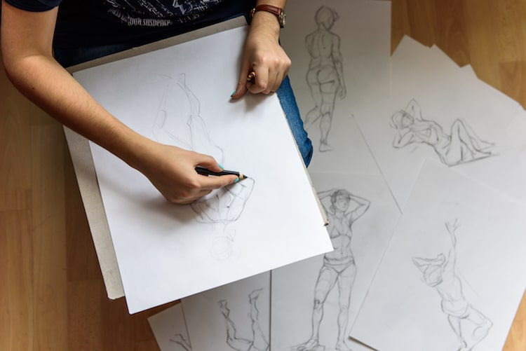 5 drawing books that will help you render the human figure