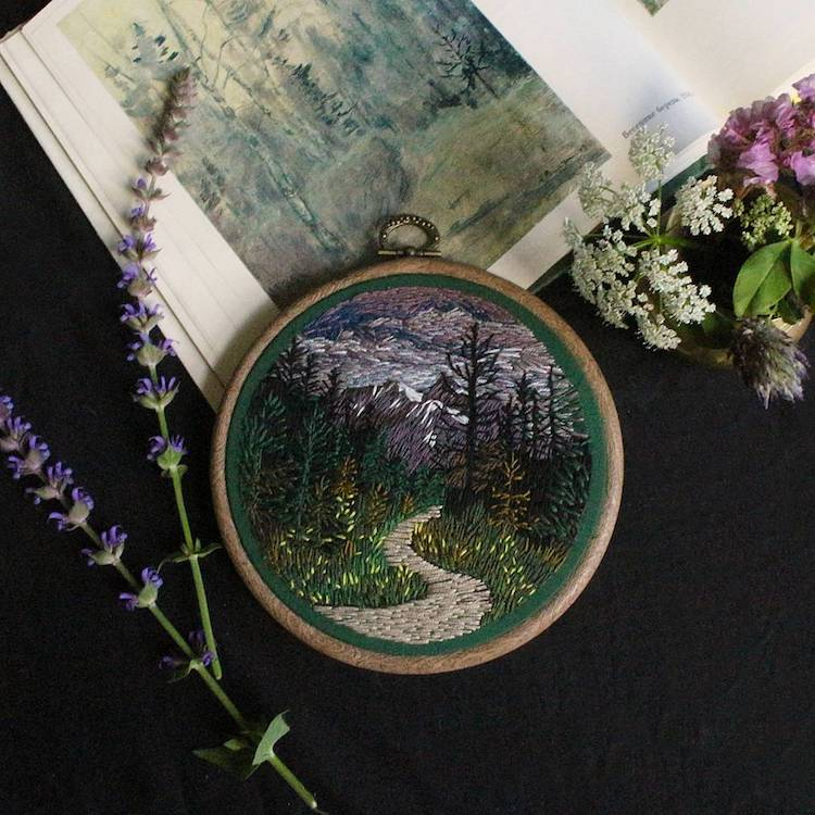 Embroidery Art by Jura Gric