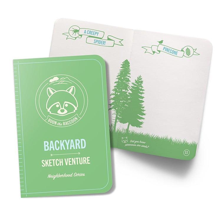 Diario para niños en la naturaleza
