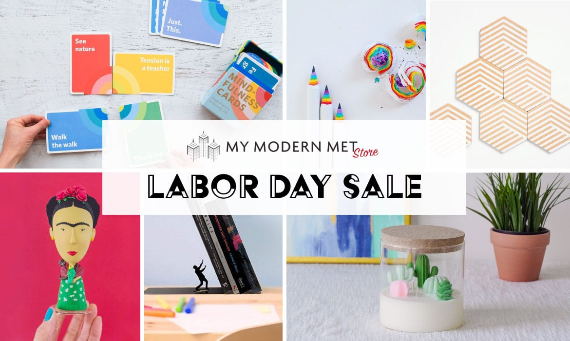 Labor Day Sale at My Modern Met Store