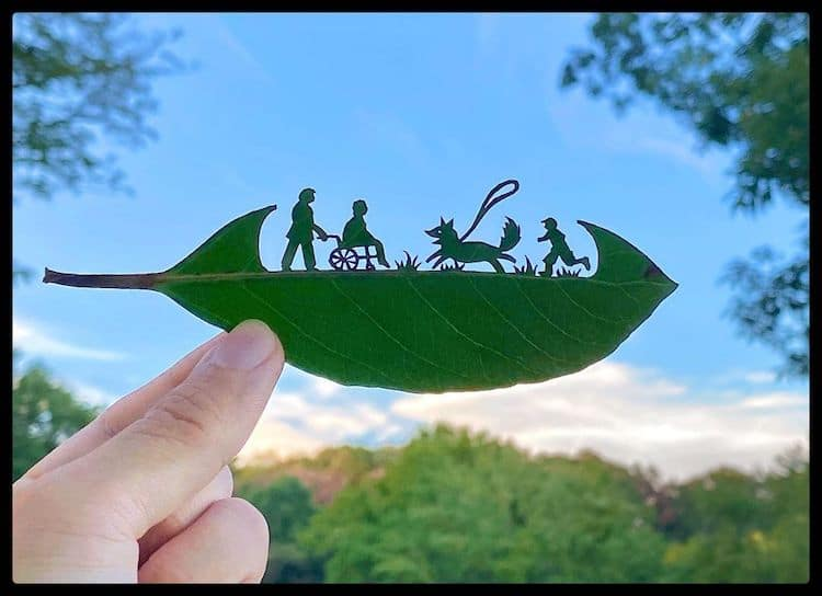 Leaf Art by lito_leafart