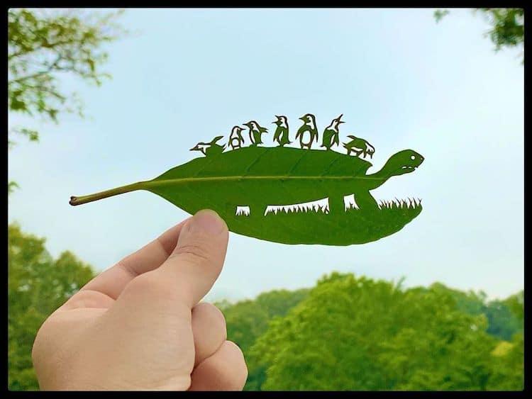 Leaf Art by lito_leafart
