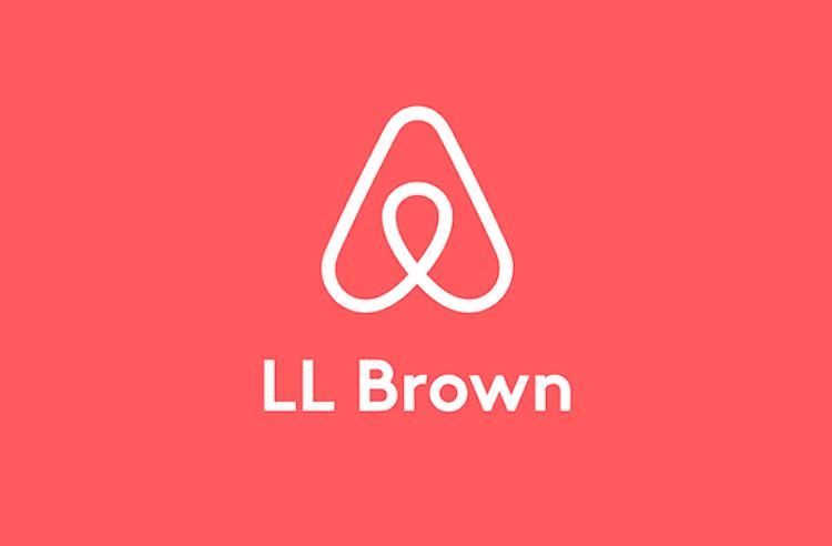 Fuente del logo de Airbnb