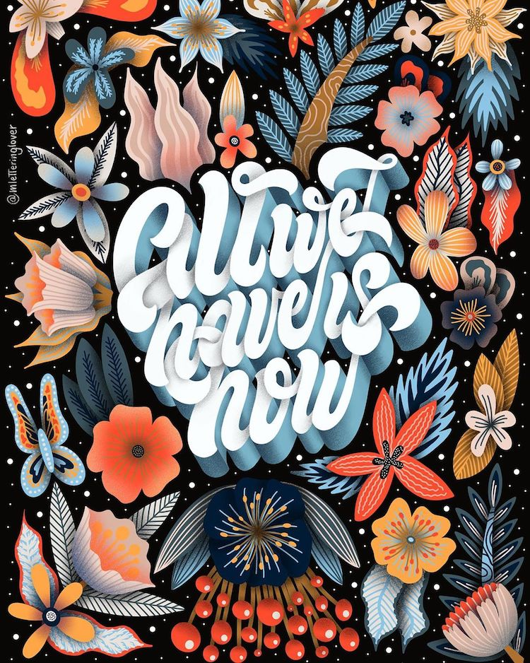 Hand Lettering by Macarena Chomik