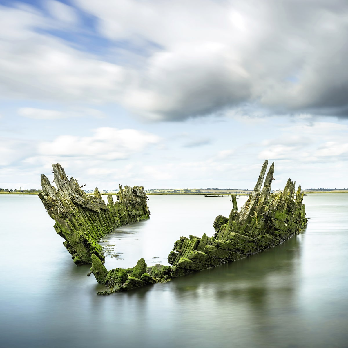 Ruins of a Boat Wreck