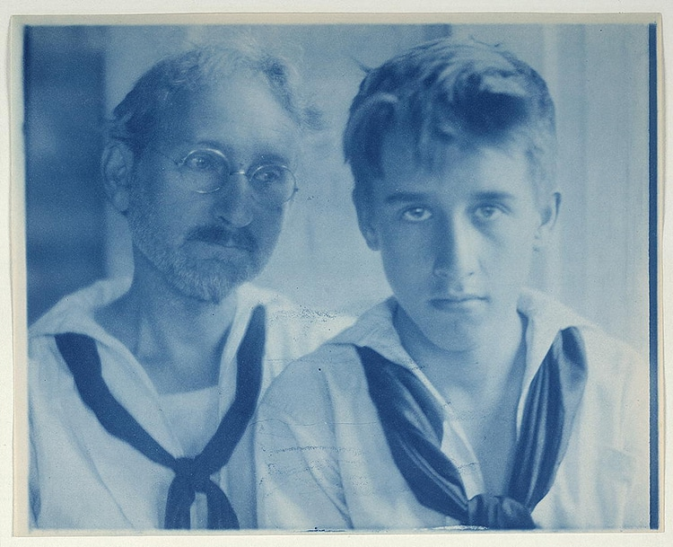 Holland Maynard Portrait Cyanotype