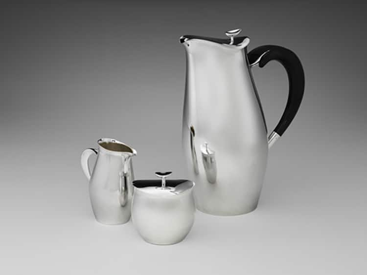Robert King Mid-Century Modern Silver